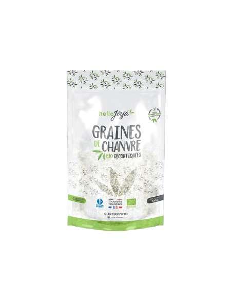Graines de chanvre bio décortiquées 200g | CBD & Chanvre