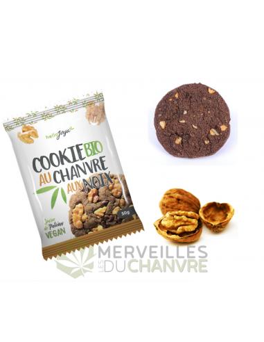 Cookie bio au chanvre et aux noix | CBD & Chanvre