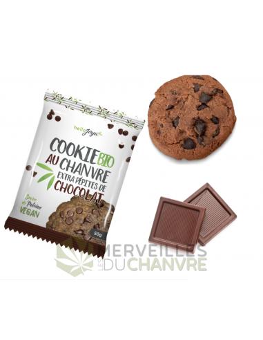 Cookie bio au chanvre extra pépites de chocolat | CBD & Chanvre