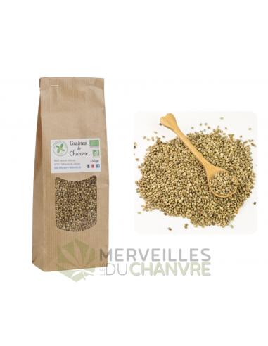 Graines de chanvre entières bio 250g | CBD & Chanvre