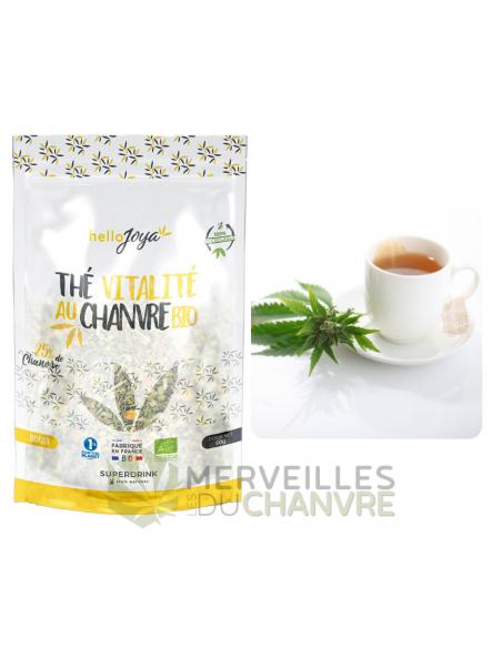 Thé Vitalité au chanvre bio | CBD & Chanvre