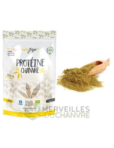 Protéine de chanvre bio 400g | CBD & Chanvre