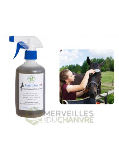 Huile équi-libre cheval | CBD & Chanvre
