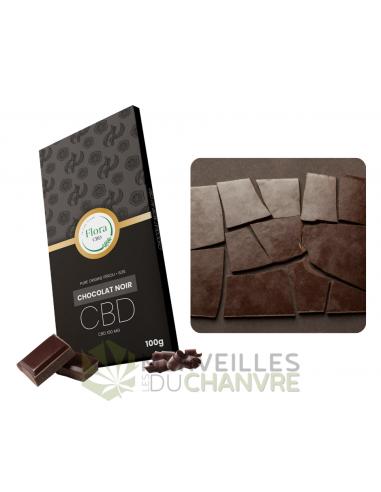 Chocolat intense CBD 100g | CBD & Chanvre
