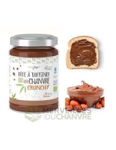 Pâte à tartiner bio au chanvre Crunchy 300g | CBD & Chanvre
