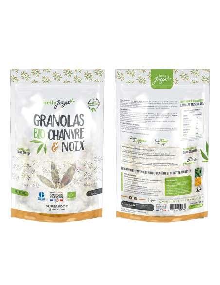 Granola bio chanvre & noix 300g | CBD & Chanvre